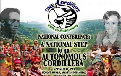 GQEP wins bid to administer the National Conference for Cordillera Autonomy