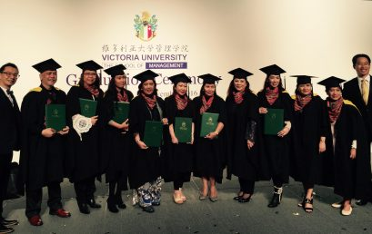 Philippine Cohort of Swiss MBA Program graduates in Hong Kong