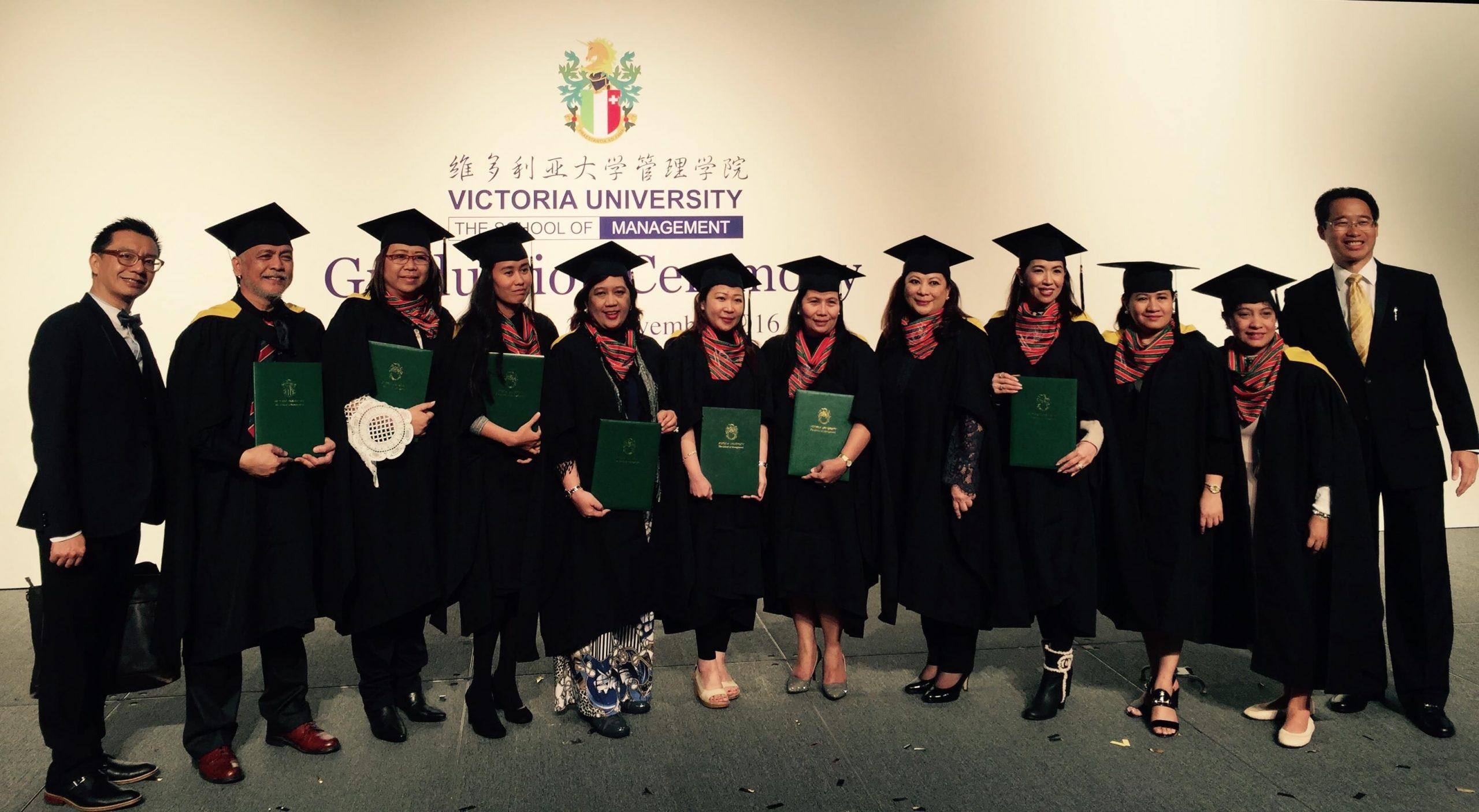 Philippine Cohort of Swiss MBA Program graduates in Hong Kong